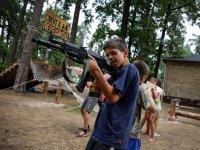 Украинские радикалы проводят военное обучение детей